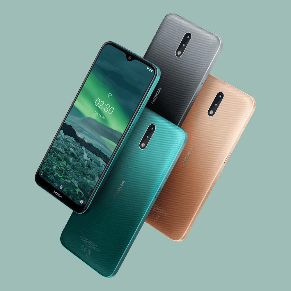 Nokia 2.3 color family